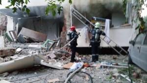 incendiu explozie bloc iasi