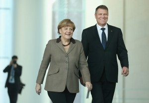Klaus Iohannis - Angela Merkel