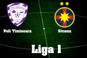 Liga I, etapa 8. Poli Timişoara - Steaua