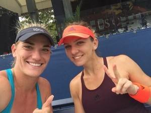 US Open. Simona Halep - Timea Babos