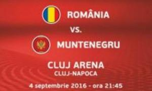 Preliminarii CM 2018. Romania - Muntenegru