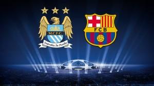 Champions League. FC Barcelona - Manchester City
