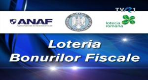 LOTERIA BONURILOR FISCALE: Extragerea lunii septembrie