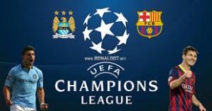 Champions League. Manchester City – Barcelona