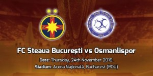 Europa League. Steaua - Osmanlispor
