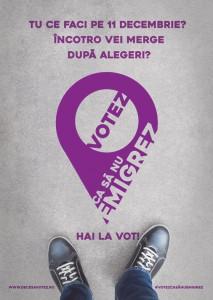 Votez ca sa nu emigrez - Ce faci pe 11 decembrie