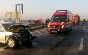 accident a 2 autostrada bucuresti constanta