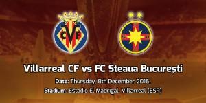 Europa League. Villarreal - Steaua