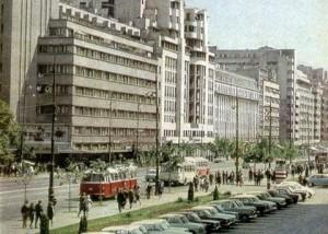 bulevardul magheru 1960