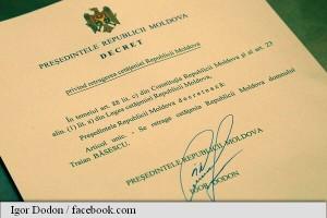 Igor Dodon i a retras lui Traian Băsescu cetățenia Republicii Moldova basarabia
