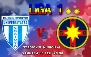 CSU Craiova – FC Steaua