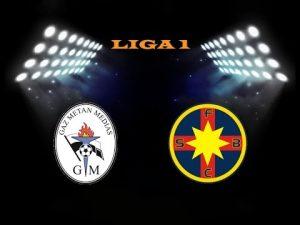 Liga I, etapa 25. Gaz Metan - Steaua
