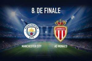 Champions League. Manchester City - Monaco