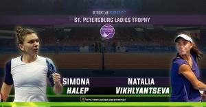 Simona Halep - Natalia Vikhlyantseva