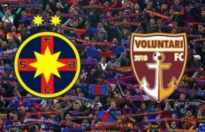 Liga I, etapa 23. Steaua - Voluntari