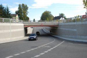 Subraversare urbană a caii ferate /Germania/