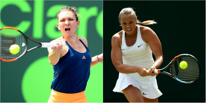 Miami Open. Simona Halep – Anett Kontaveit (live video)