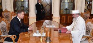 Ce a discutat preşedintele Iohannis cu patriarhul Daniel politica interna
