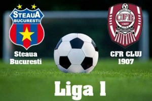 Liga I, play off. Steaua   CFR Cluj, scor 2 0 (video) sport