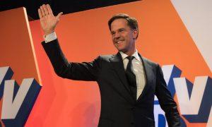 Olanda: Partidul premierului Mark Rutte a câștigat alegerile externe