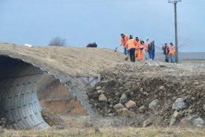 Vești bune de pe autostrada Lugoj Deva. Fotoreportaj , martie 2017 reportaj