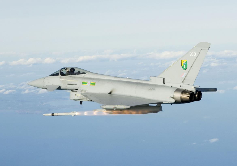 Armata britanică trimite Typhoon-ul în România