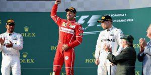 Vettel a câştigat primul Mare Premiu al sezonului de F1