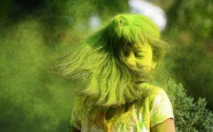Festivalul culorilor în India (foto) poza zilei