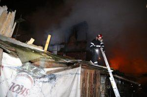 Incendiu la periferia Capitalei social