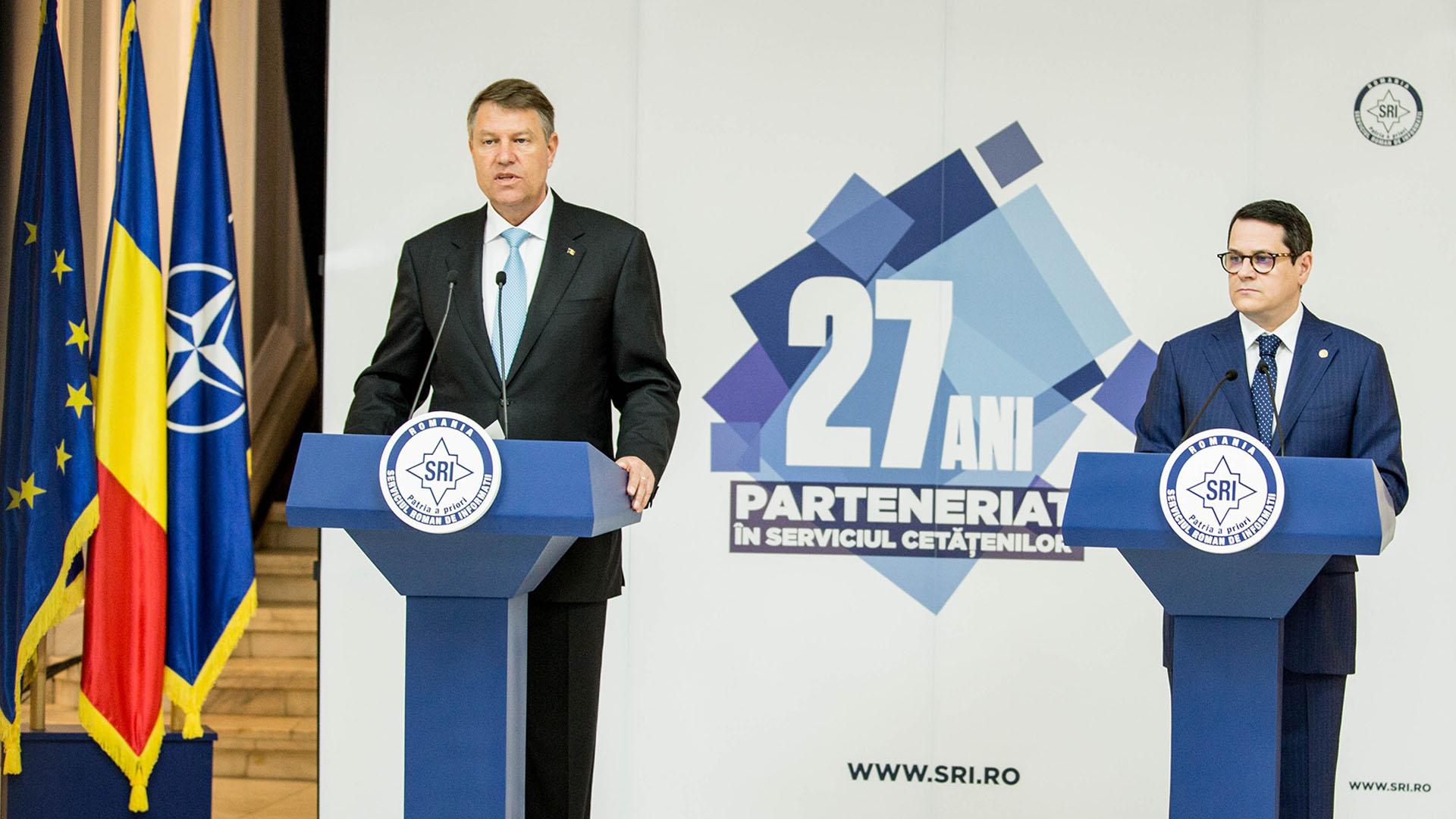 Ce a cerut Iohannis la şedinţa de bilanţ a SRI