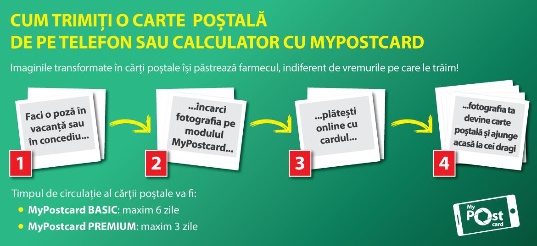 Poșta Română: cărți poștale personalizate direct de pe telefon