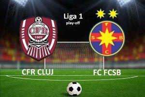 Liga I. Etapa 6 play-off. CFR -Steaua