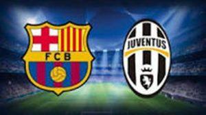 Champions League. Barcelona - Juventus