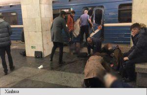 UPDATE   Zeci de morți și răniți în explozia produsă în metroul din Sankt Petersburg externe