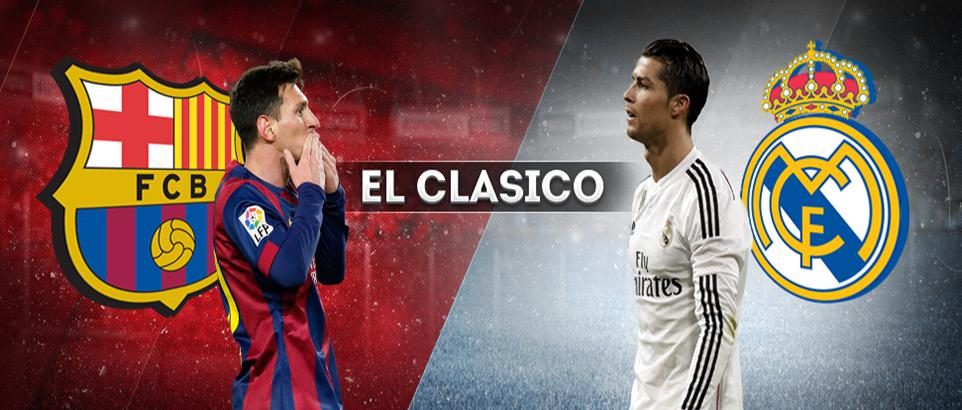 El Clasico. Real Madrid – Barcelona (live video)