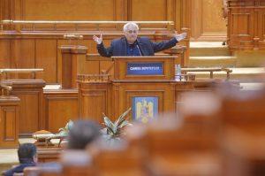 Gesturi şi cuvinte obscene în Parlament politica interna