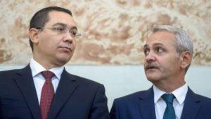 Ponta: Am discutat eu și premierul cu emisarii lui Dragnea politica interna