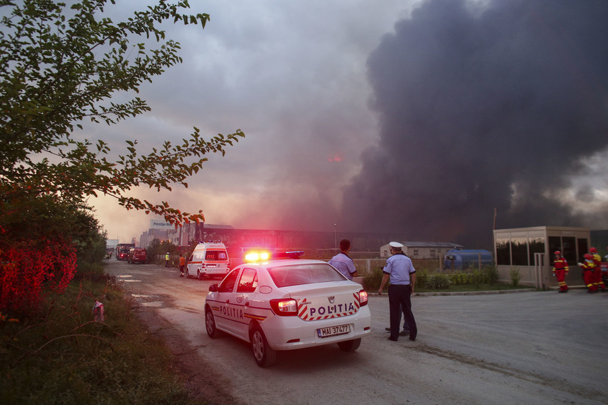 UPDATE – Incendiu devastator la Baloteşti