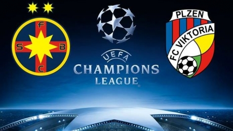 Champions League. FCSB Steaua – Plzenscor, scor 2-2 (video)