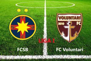 Liga I, etapa 1. Steaua - Voluntari