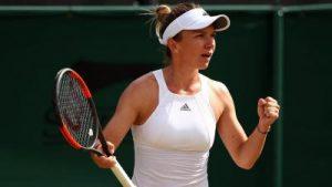 Wimbledon. Simona Halep - Johanna Konta (live video).