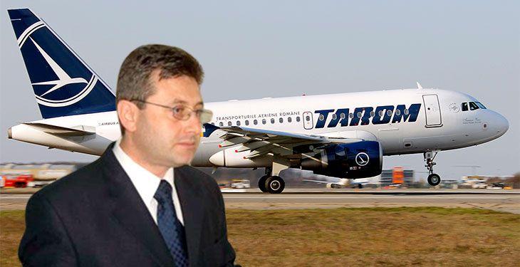 Directorul general al TAROM și-a dat demisia