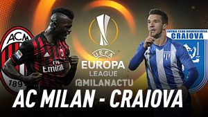 Europa League. Milan - Craiova