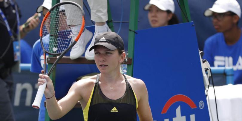 WTA Washington. Simona Halep - Mariana Duque Marino