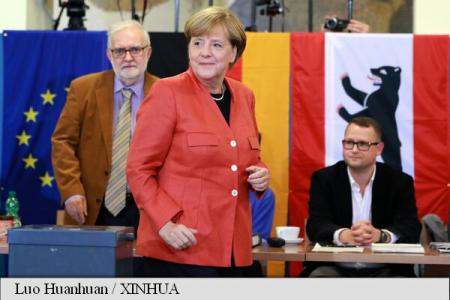 Germania/alegeri: Partidul Angelei Merkel câștigă