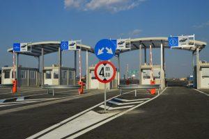 PCTF Nădlac spre  Ungaria pe autostrada A1