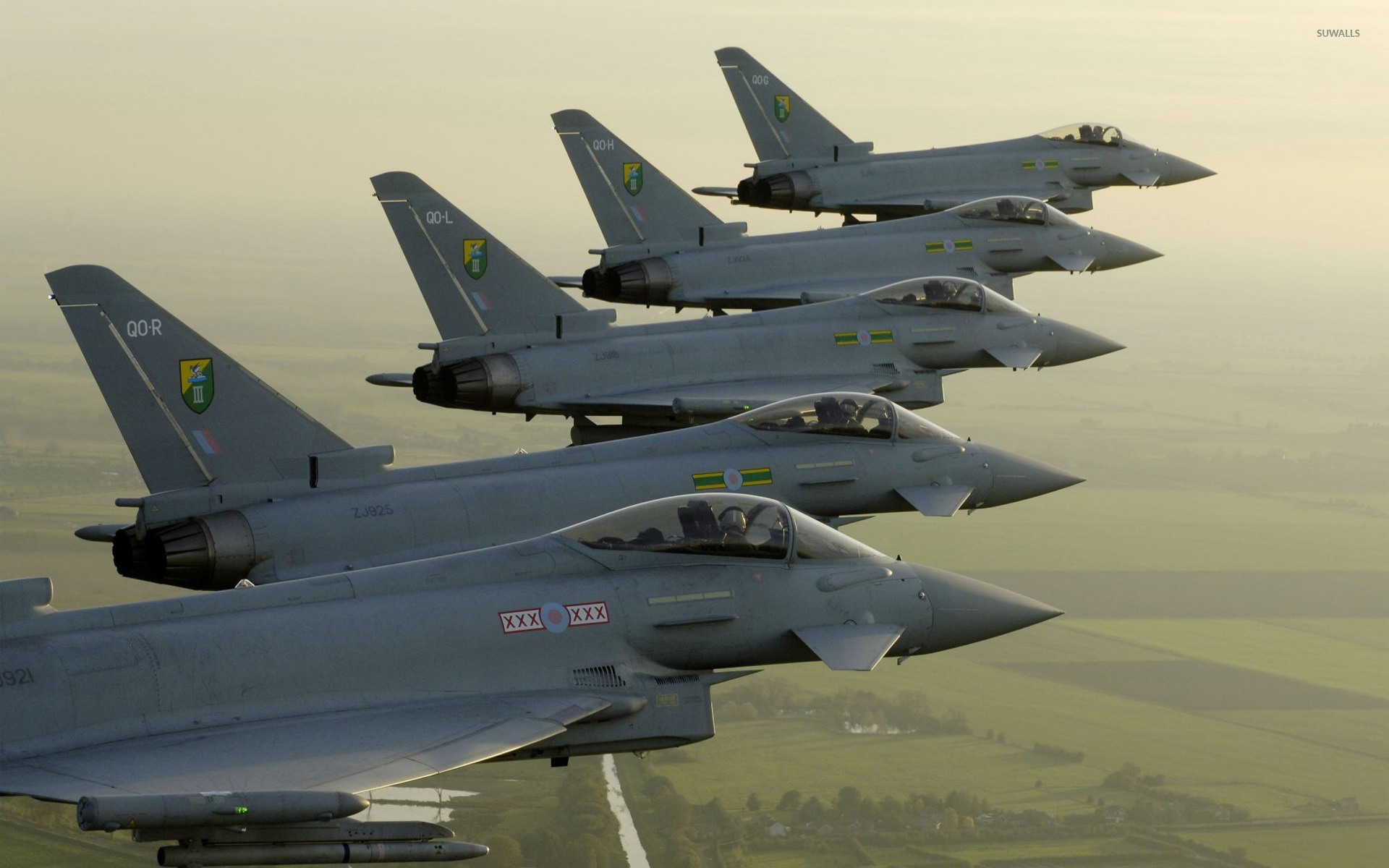 Qatarul va cumpăra 24 de avioane Typhoon