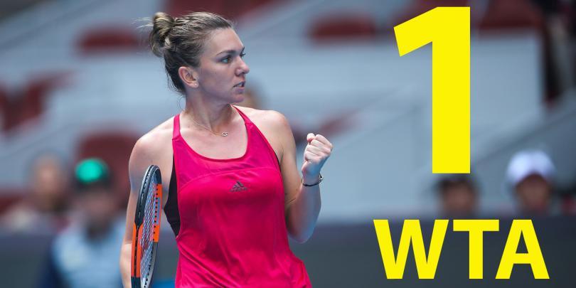Resultado de imagen para HALEP LA  NO. 1 WTA