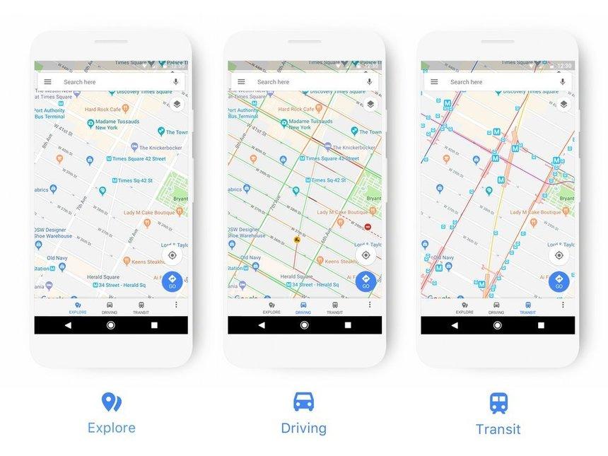 Google Maps primeşte o interfaţă nouă