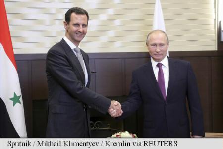 Putin s-a întâlnit cu Bashar al-Assad la Soci